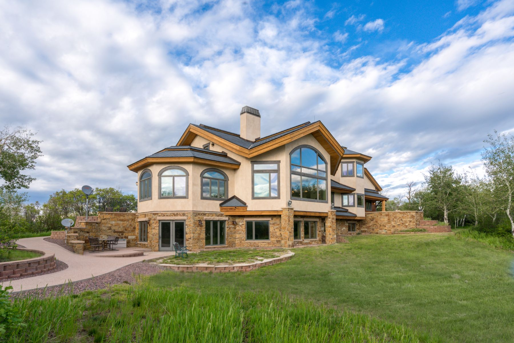 Single Family Home for Sale at Lost Meadow Estate 26940 Sundance Trail Steamboat Springs, Colorado 80487 United States