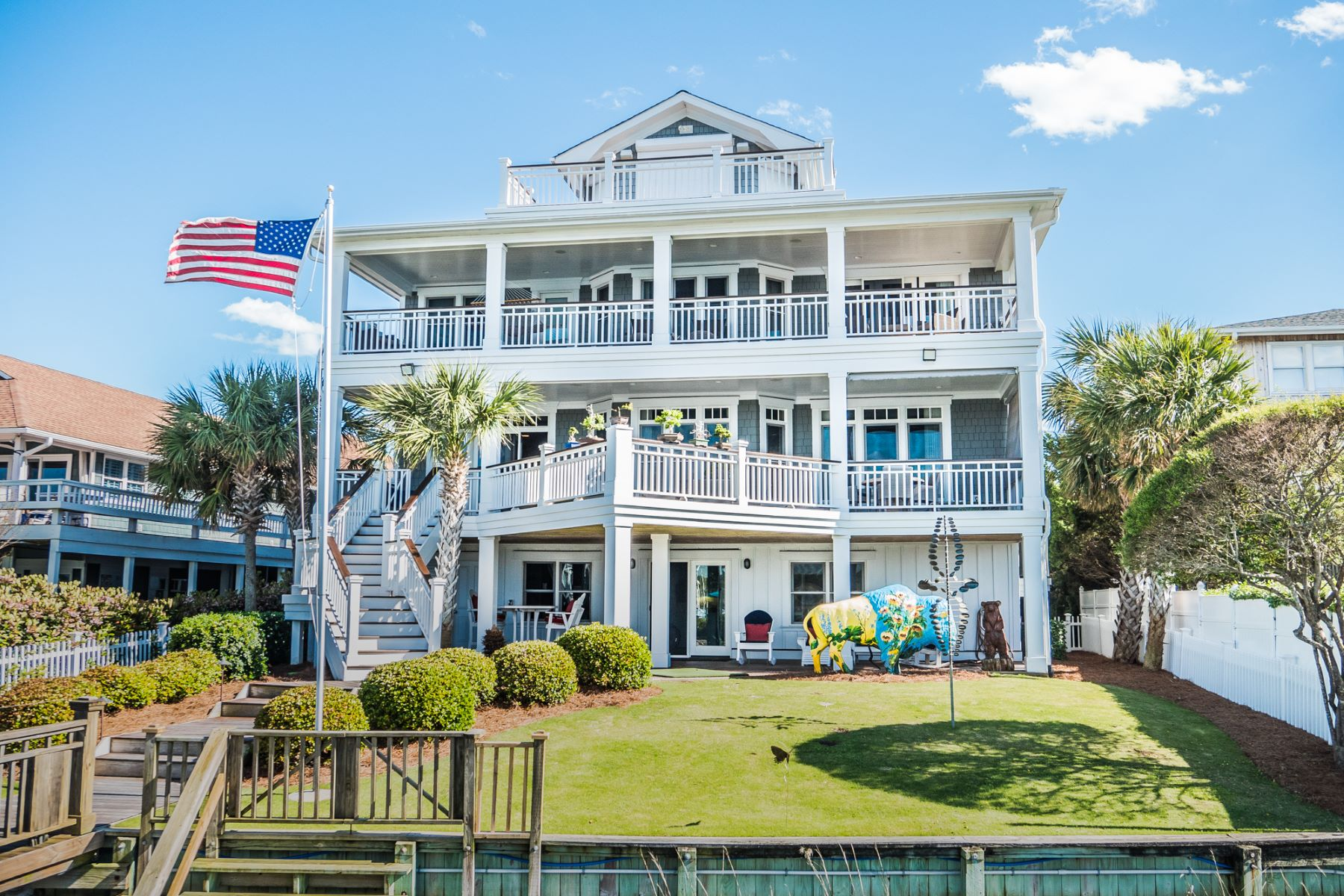 Single Family Home for Sale at Harbor Island Masterpiece 42 Pelican Drive Wrightsville Beach, North Carolina, 28480 United States