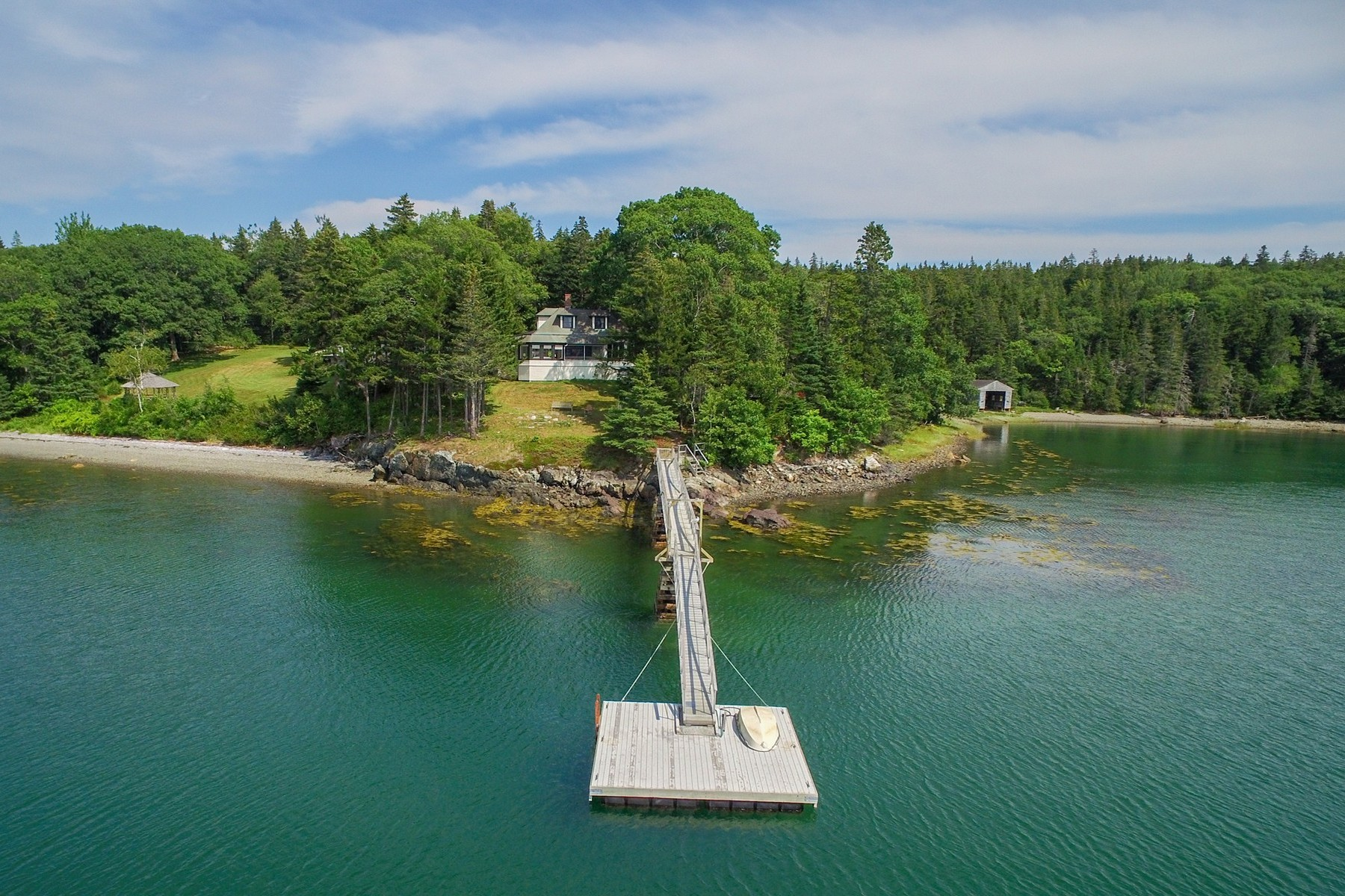 Single Family Home for Sale at Kro Krest 17 Kro Krest Lane Sorrento, Maine, 04677 United States