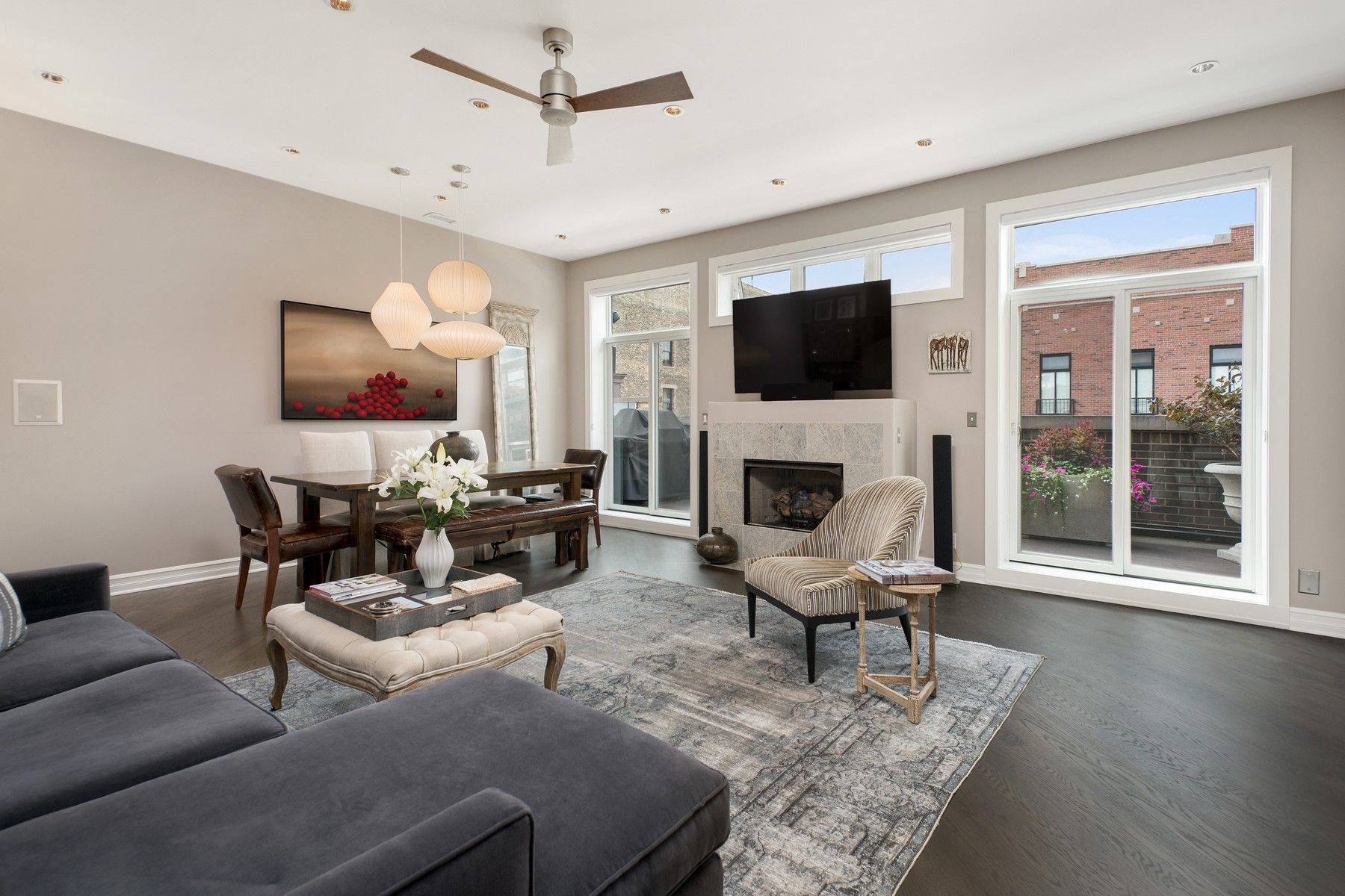Single Family Home for Sale at Sophisticated Oasis in Heart of Bucktown 1631 N Milwaukee Avenue Unit 2, Logan Square, Chicago, Illinois, 60647 United States