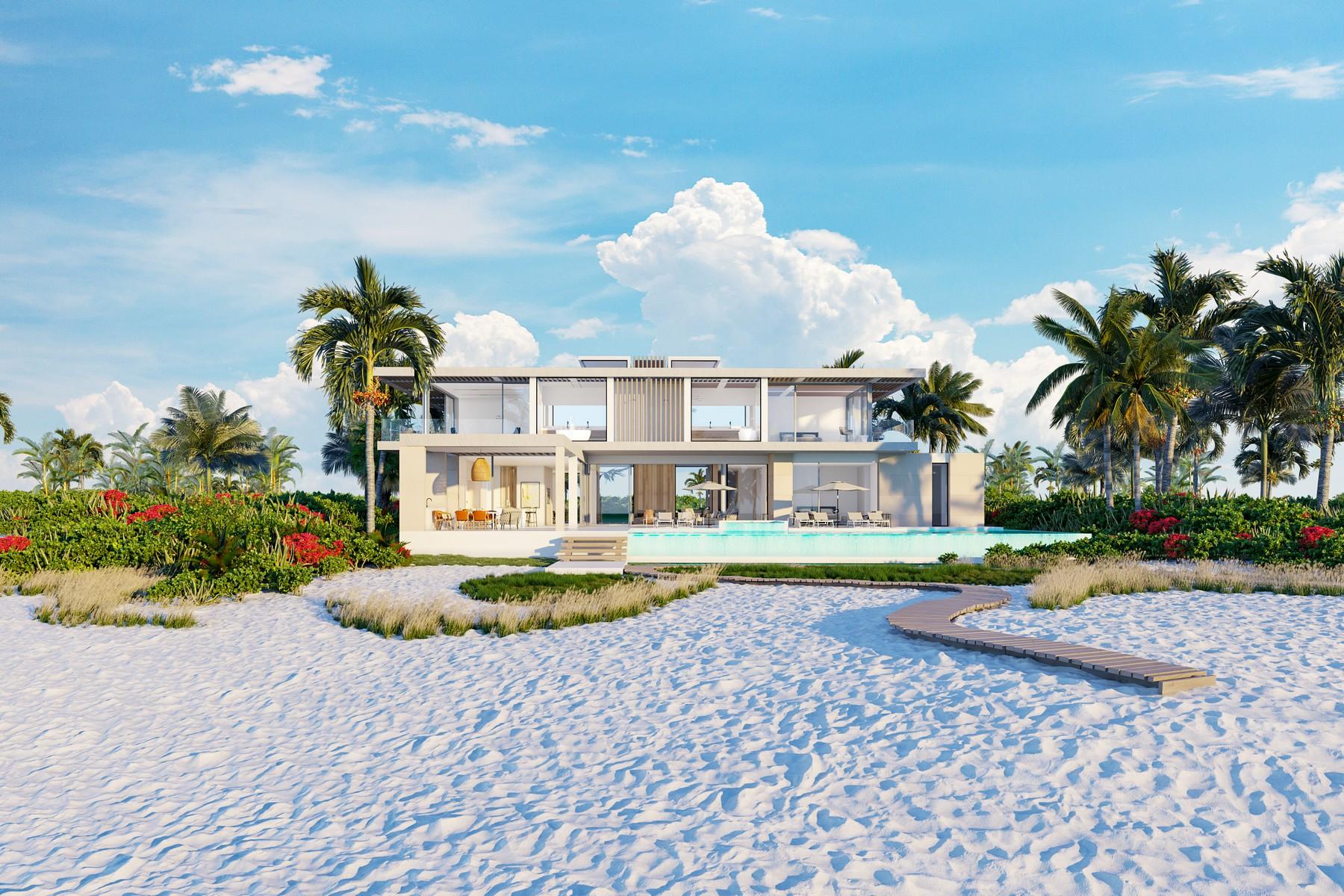 Additional photo for property listing at The Peninsula at Emerald Estate - Beach House 3 Emerald Point Beachfront Leeward, Providenciales TKCA 1ZZ Islas Turcas y Caicos