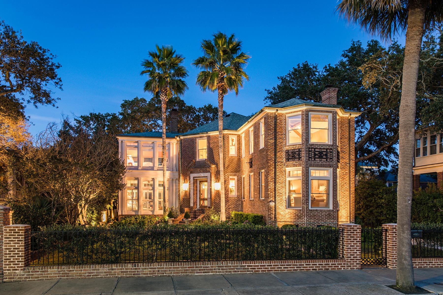 Single Family Homes for Active at 72 Murray Boulevard Charleston, South Carolina 29401 United States