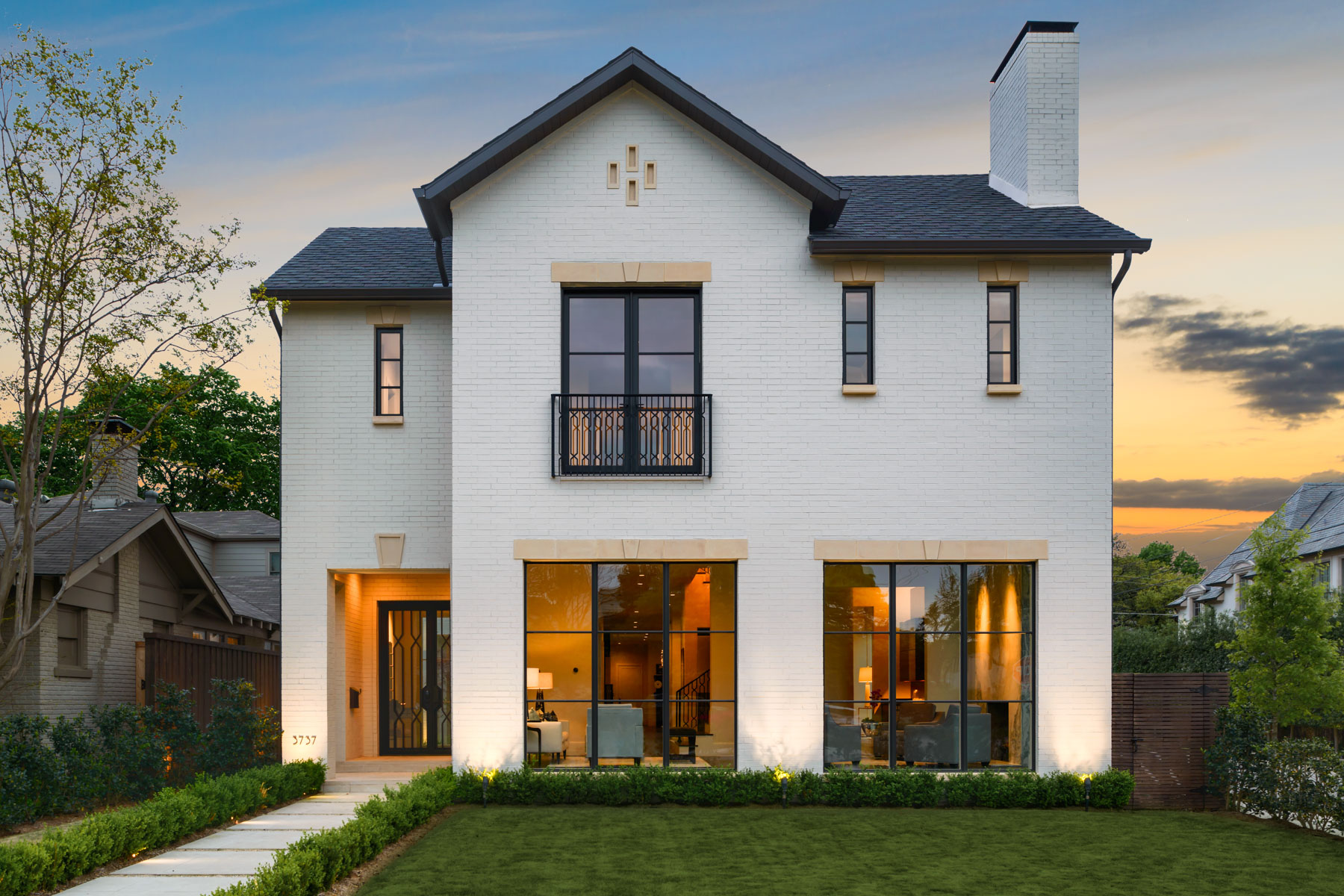 Single Family Home for Sale at One of a kind New Construction by Validus Developments 3737 Normandy Avenue, Highland Park, Texas, 75205 United States