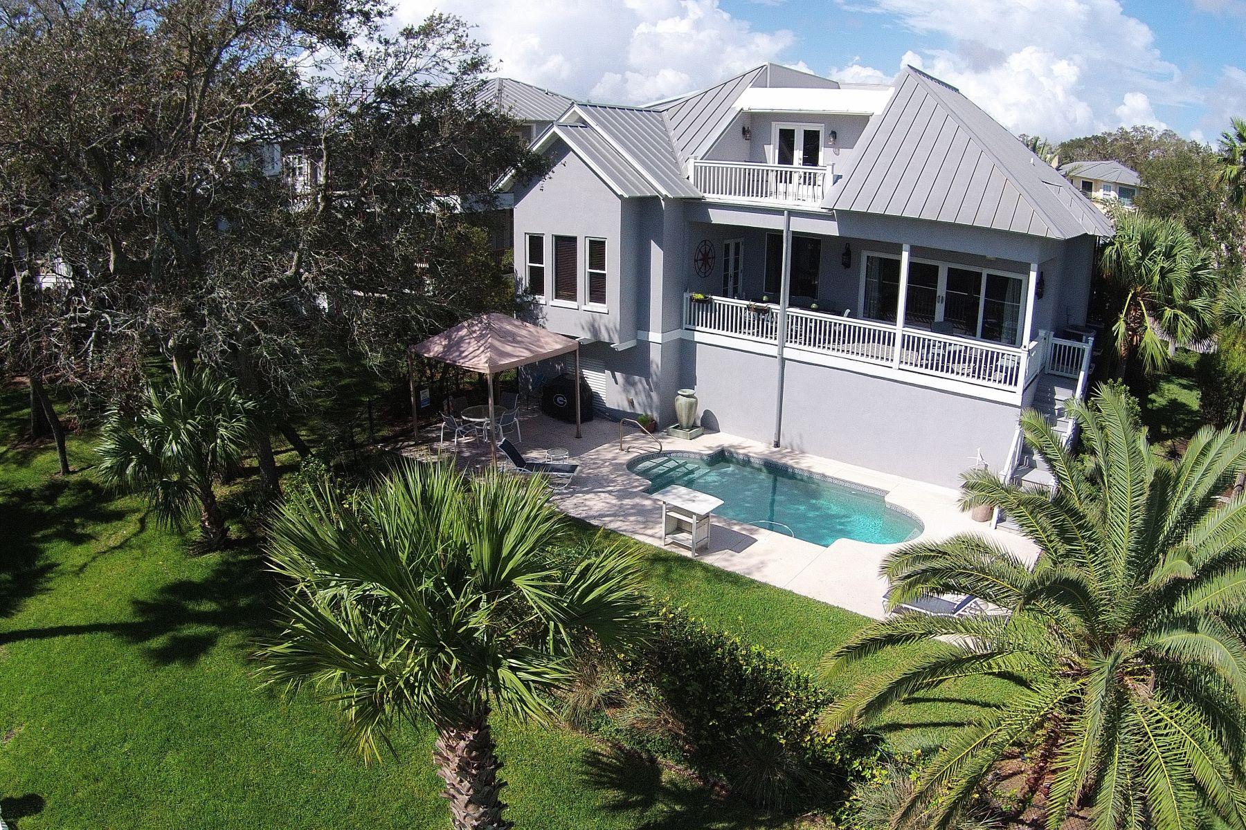 Einfamilienhaus für Verkauf beim 126 Compass Point Drive St. Simons Island, Georgia, 31522 Vereinigte Staaten