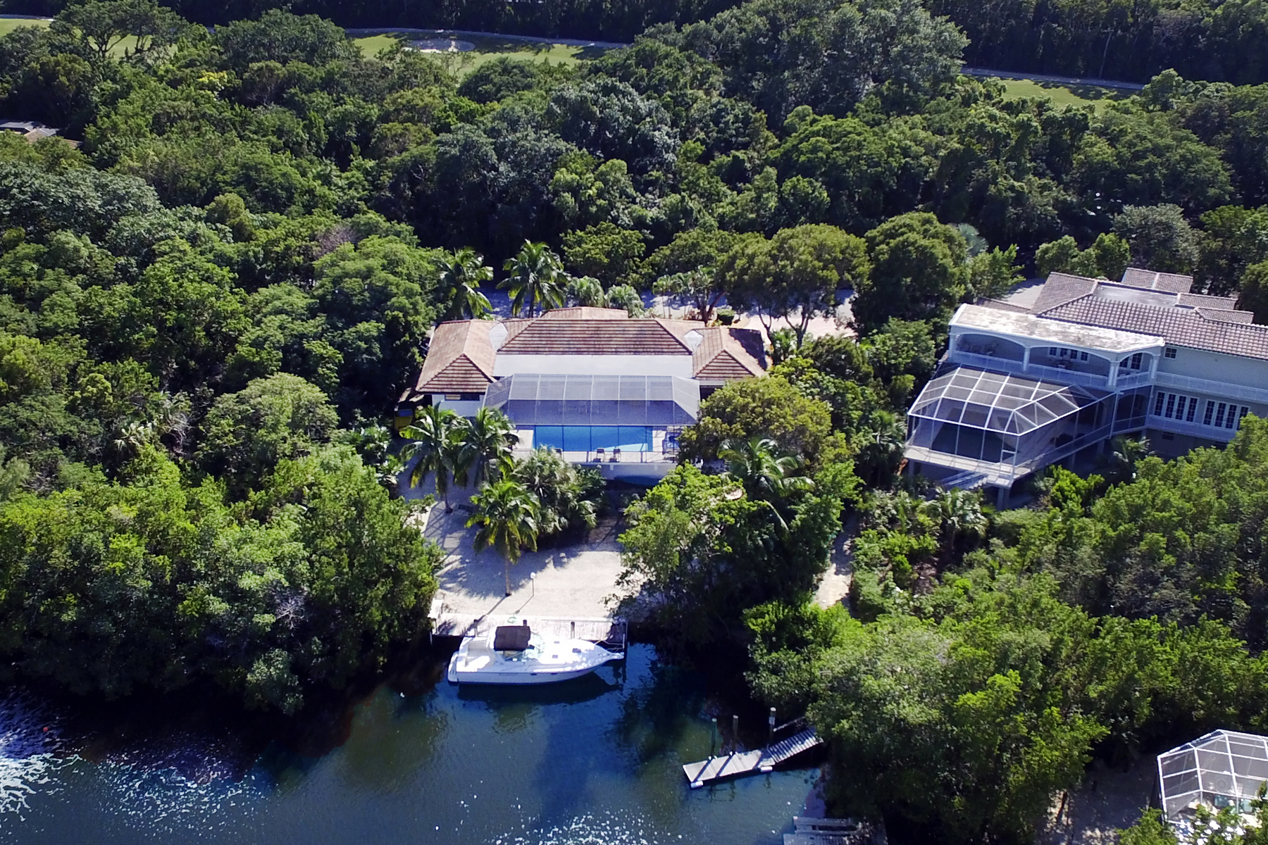 Additional photo for property listing at Canalfront Home at Ocean Reef 12 South Bridge Lane Key Largo, Florida 33037 États-Unis