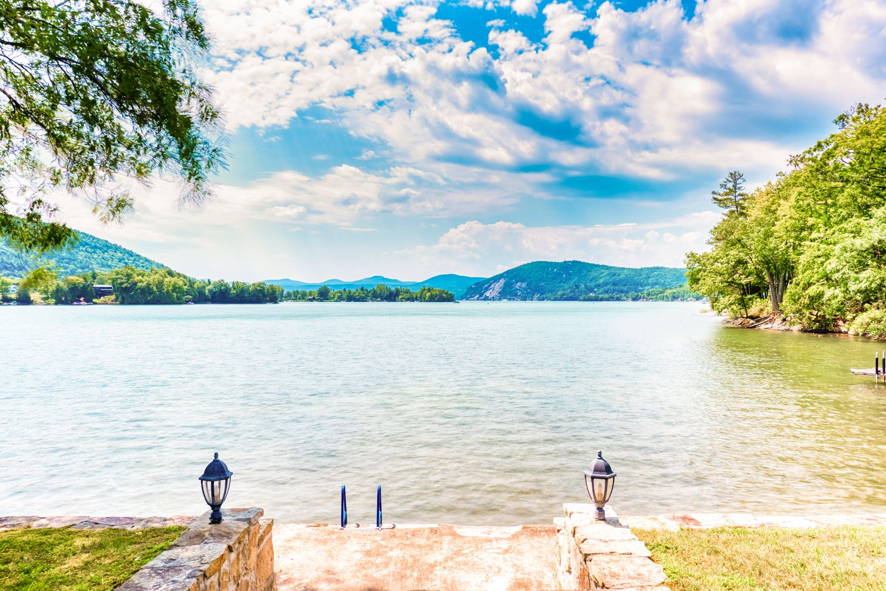 Single Family Homes for Sale at Beautifully Landscaped 1 Story On Lake George 306 Black Point Rd Ticonderoga, New York 12883 United States