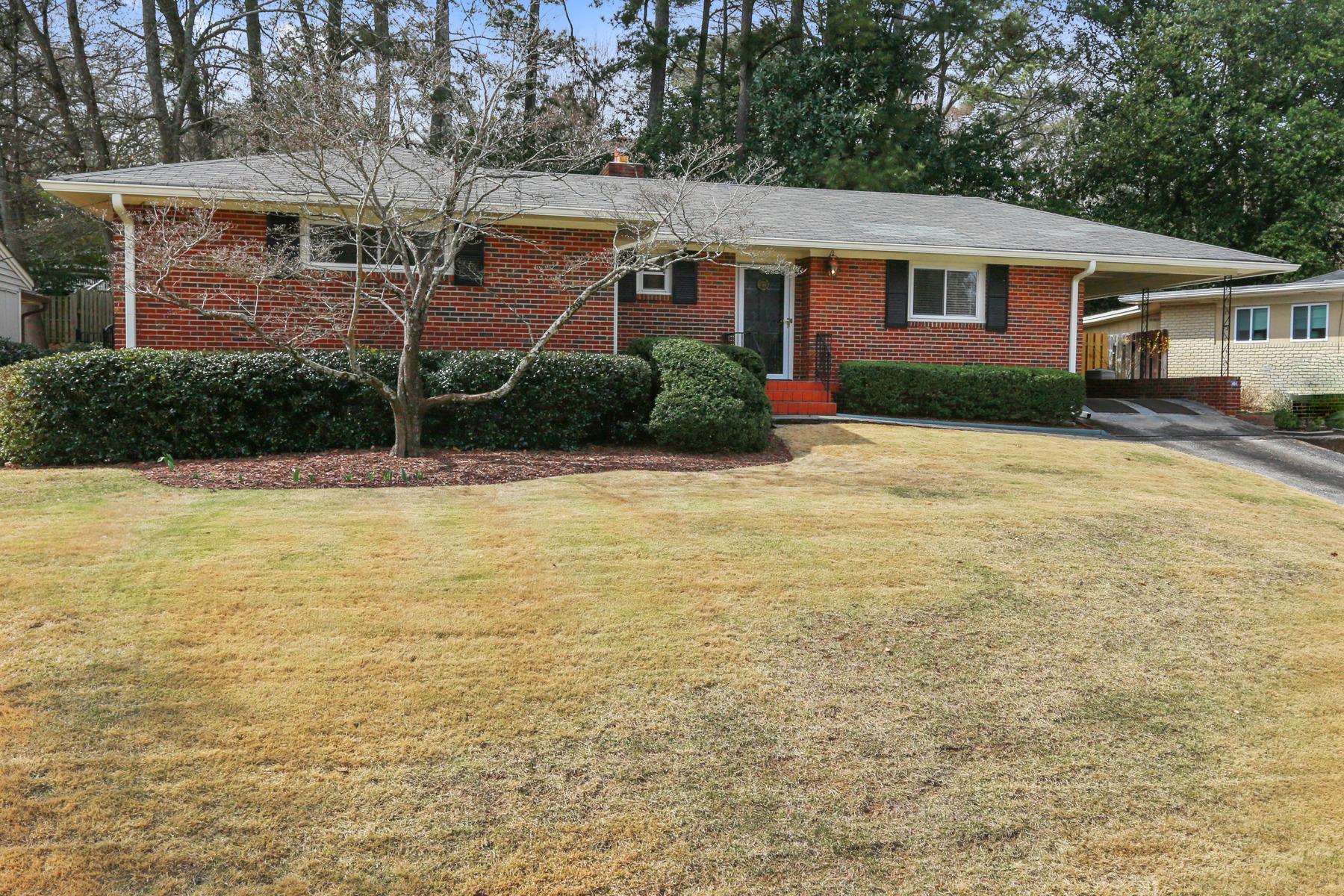 Single Family Home for Sale at Renovated Garden Hills 404 Springdale Drive NE Garden Hills, Atlanta, Georgia, 30305 United States