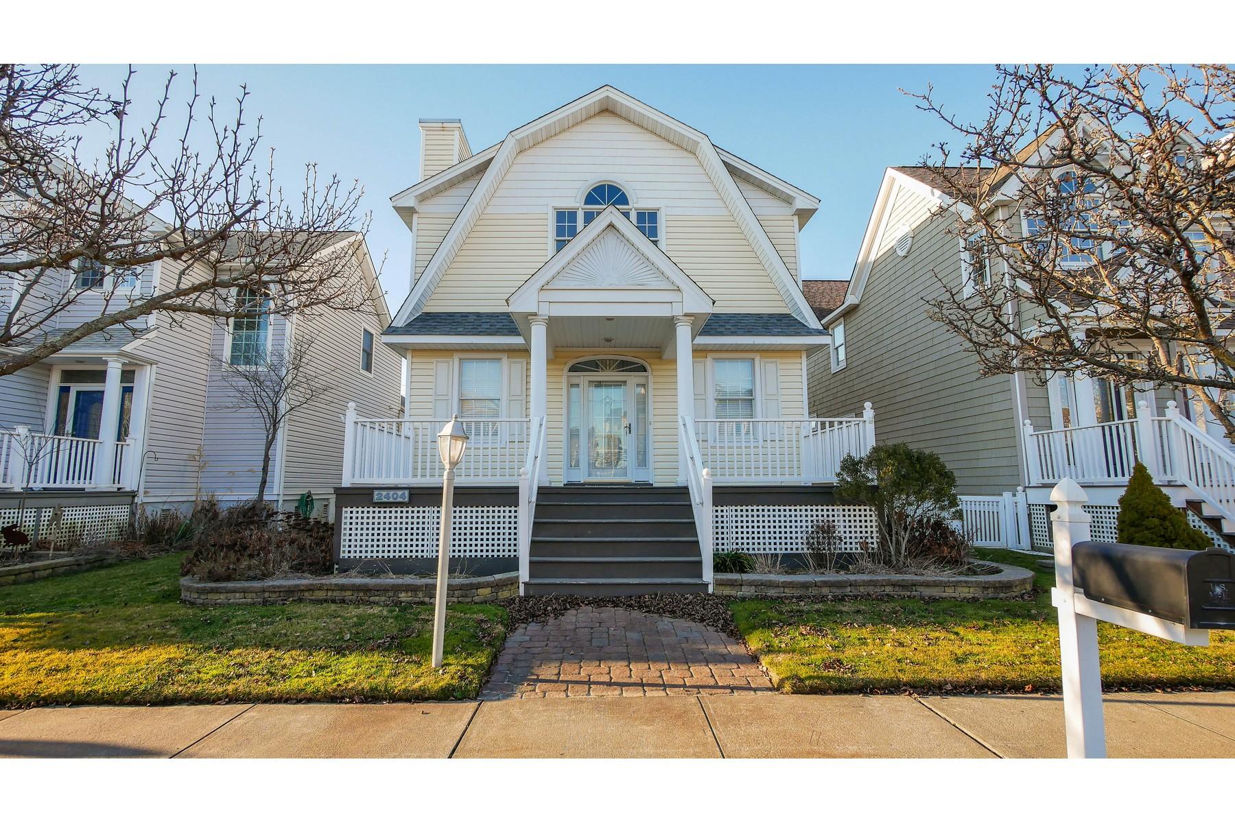 Single Family Homes por un Venta en Immaculate Two Story Home 2404 Haven Ave Ocean City, Nueva Jersey 08226 Estados Unidos