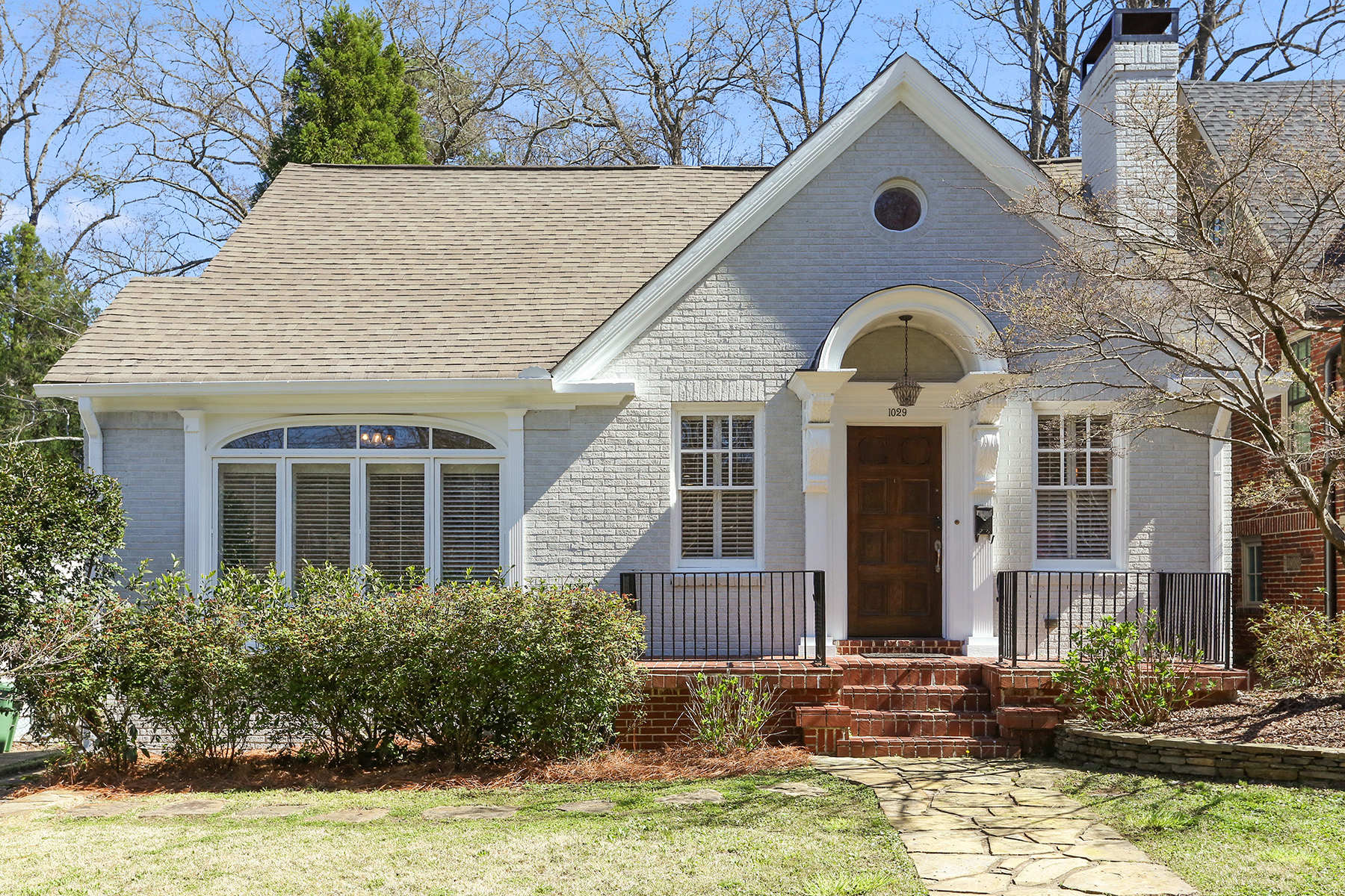 Single Family Home for Sale at Traditional Virginia Highland Charmer 1029 N Virginia Avenue Atlanta, Georgia 30306 United States