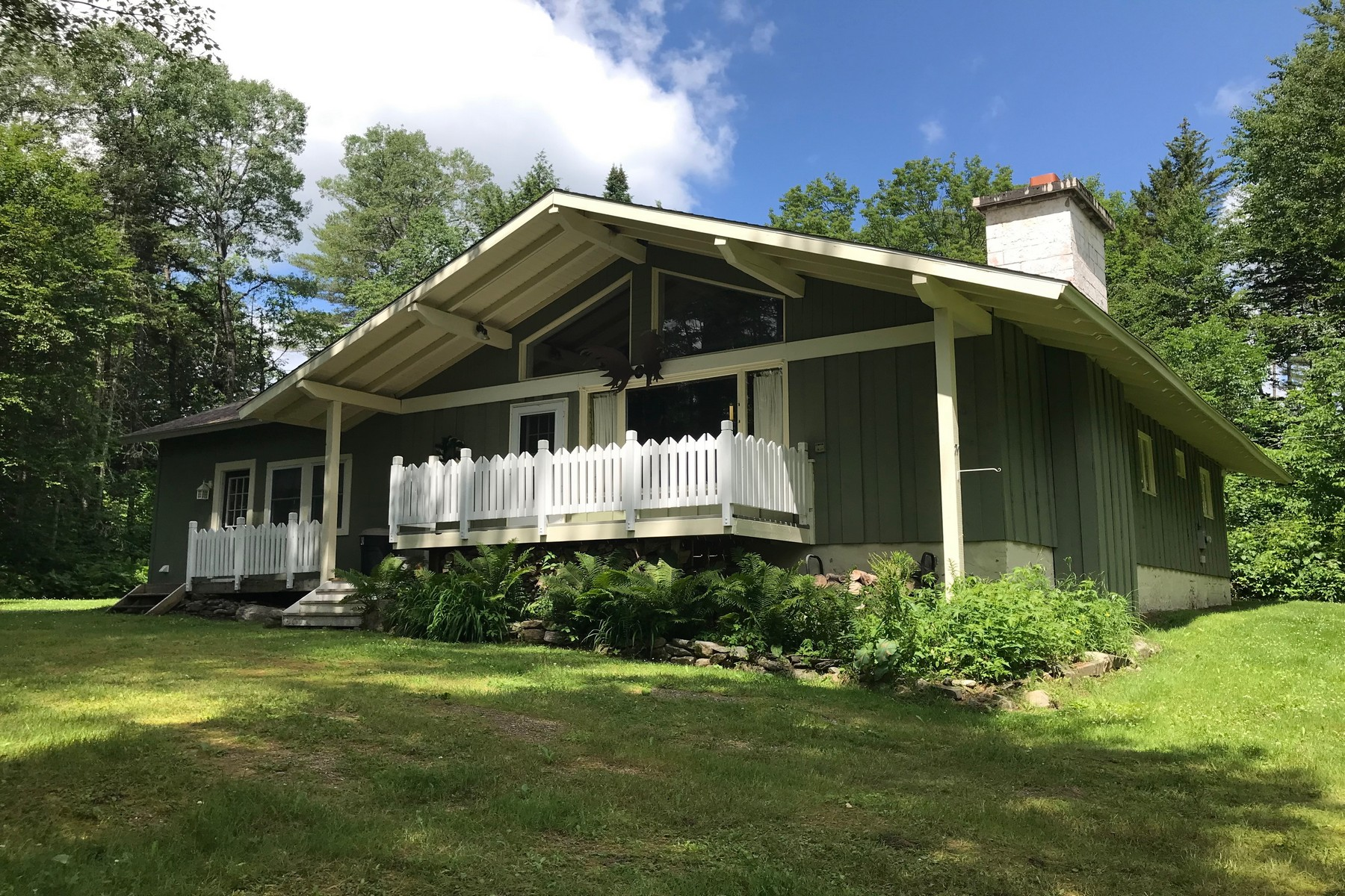 Single Family Homes for Sale at Country Chalet - One Level Living 71 Vacation Lodges Rd Londonderry, Vermont 05148 United States