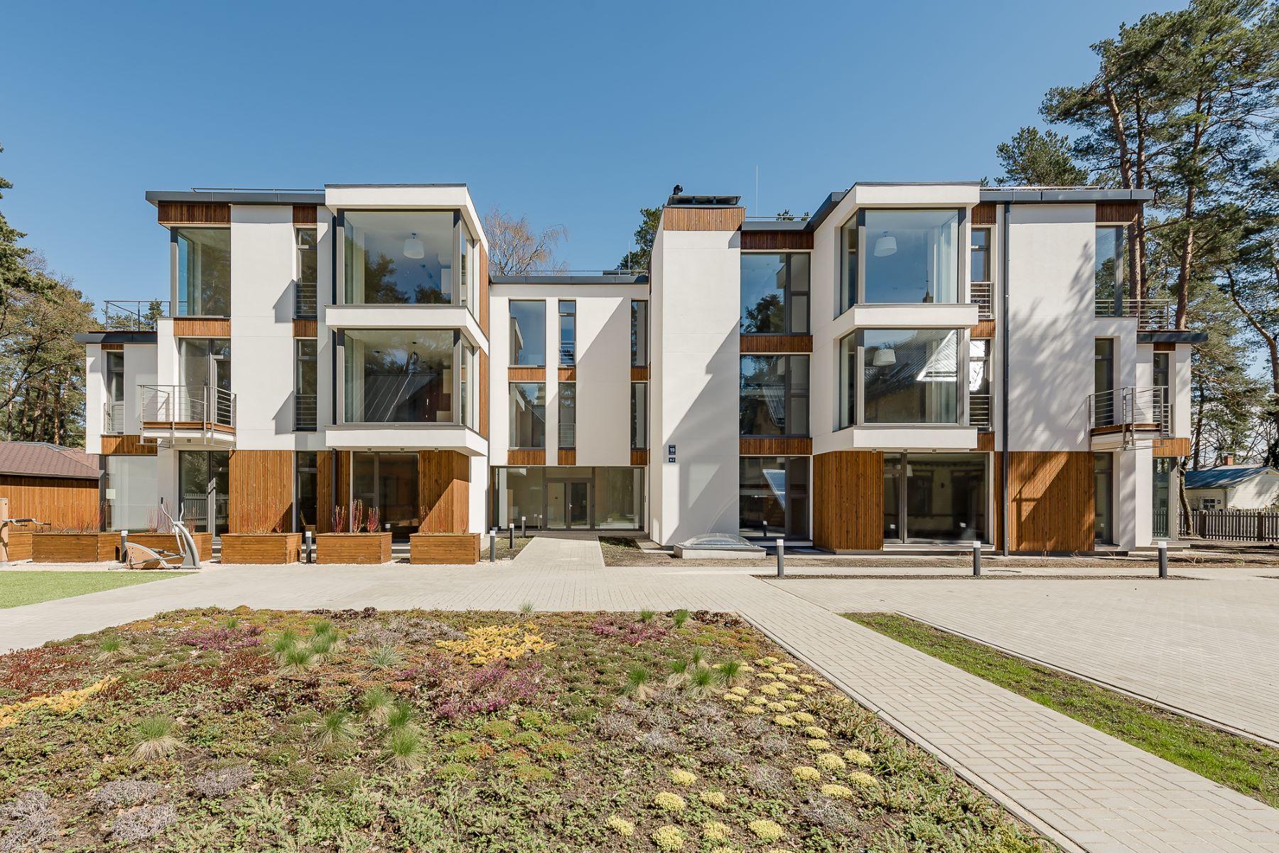 Appartement pour l à vendre à The apartment in the new development in Jurmala Jurmala, Rigas County, Lettonie