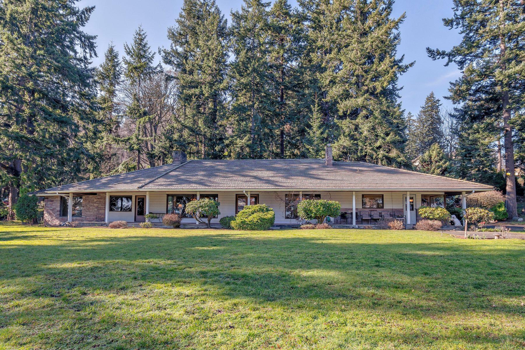 Single Family Homes por un Venta en Stittwood Mid-Century Modern 4015 Mitchell Dr Anacortes, Washington 98221 Estados Unidos