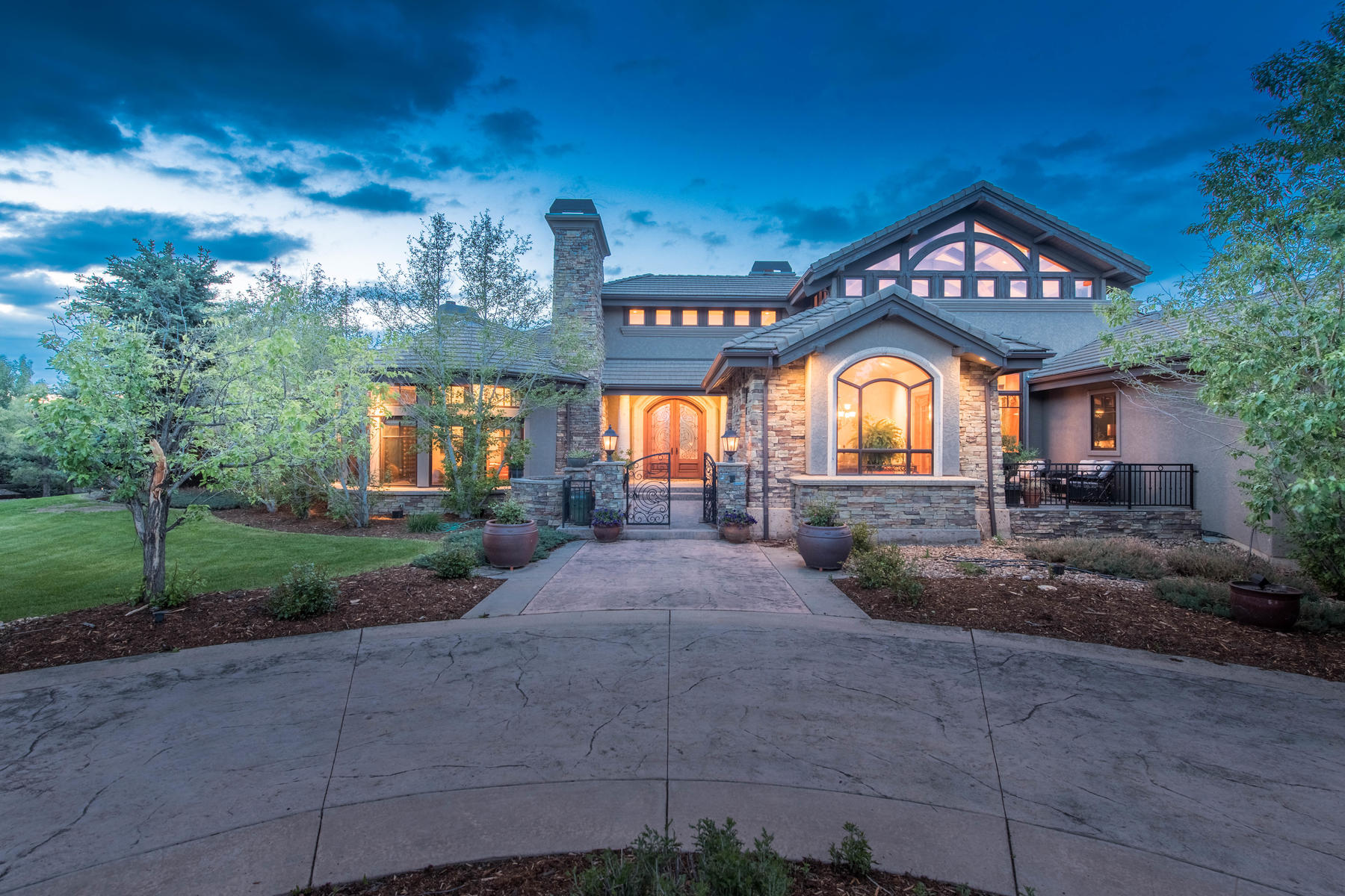 Single Family Home for Active at Tuscan Contemporary Estate 1110 White Hawk Ranch Dr Boulder, Colorado 80303 United States