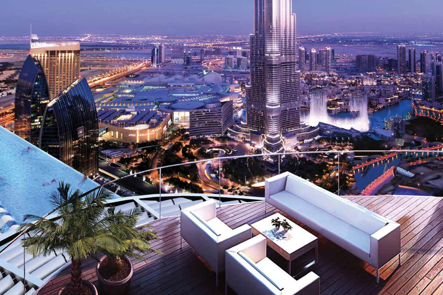 Apartment for Sale at 4-bed Penthouse for Sale on Payment Plan Downtown Dubai The Address Sky View Dubai, Dubai 00000 United Arab Emirates
