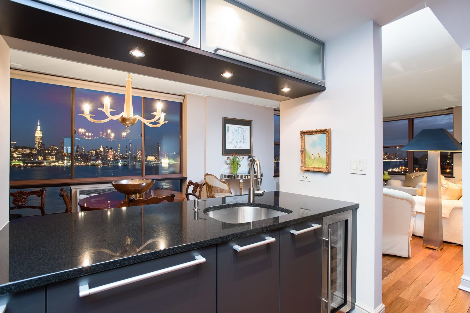 Condomínio para Venda às Majestic NYC Views 2 Constitution Ct #1104, Hoboken, Nova Jersey 07030 Estados Unidos