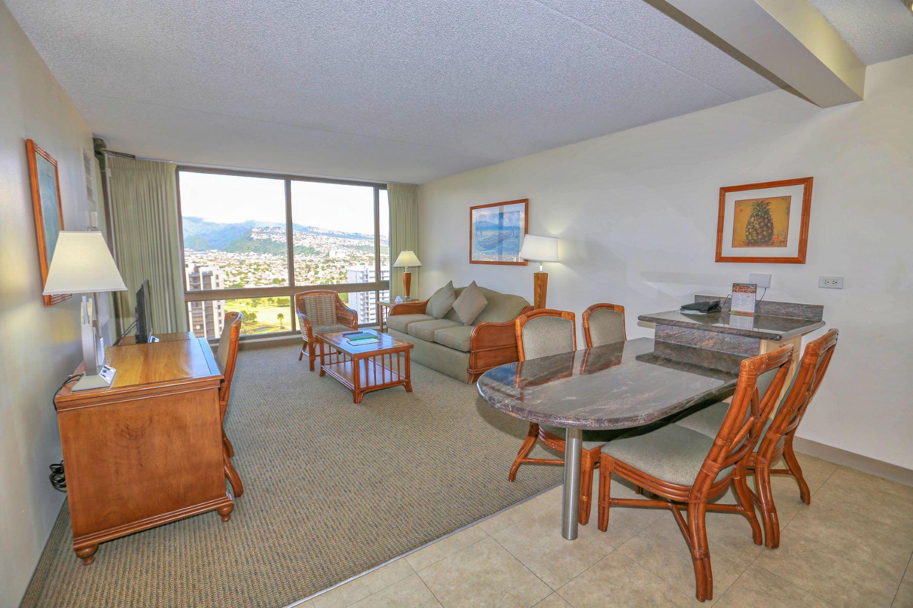 Piso por un Venta en Amazing Views 229 Paoakalani Ave #2809 Honolulu, Hawaii 96815 Estados Unidos