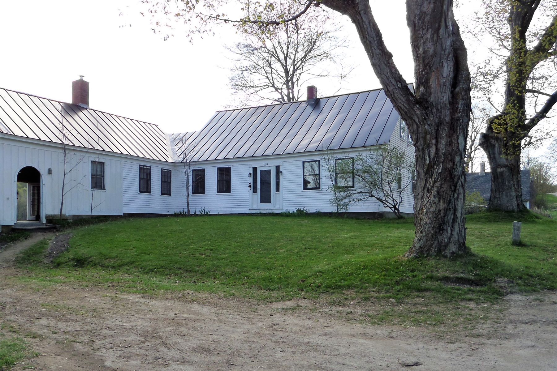 Single Family Home for Sale at Three Bedroom Antique Cape in West Newbury 189 Tucker Mountain Rd Newbury, Vermont 05051 United States