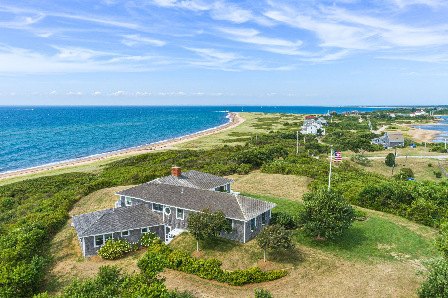 Single Family Homes for Sale at Coastal Retreat 925 Coast Guard Road Block Island, Rhode Island 02807 United States