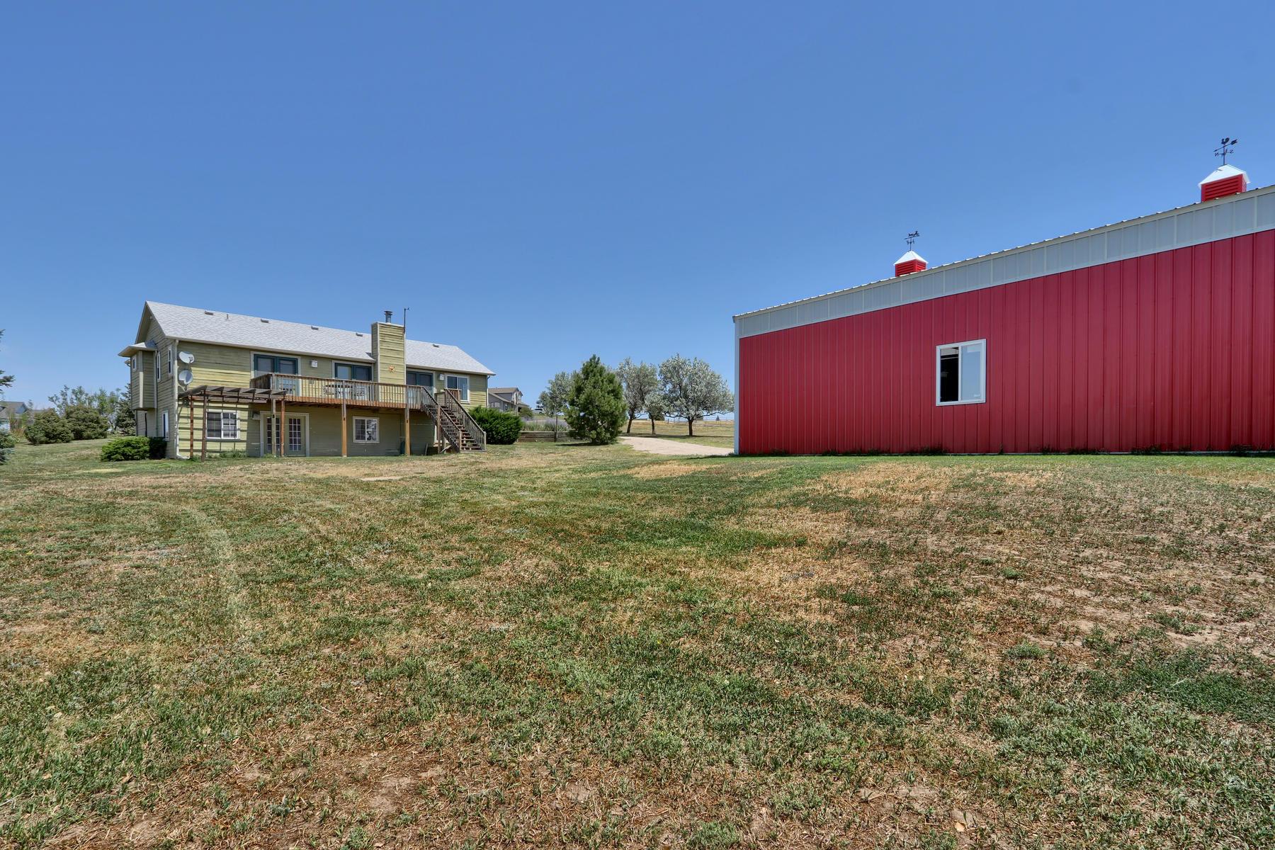 Single Family Homes for Active at 7174 S Shenandoah Drive Elizabeth, Colorado 80107 United States