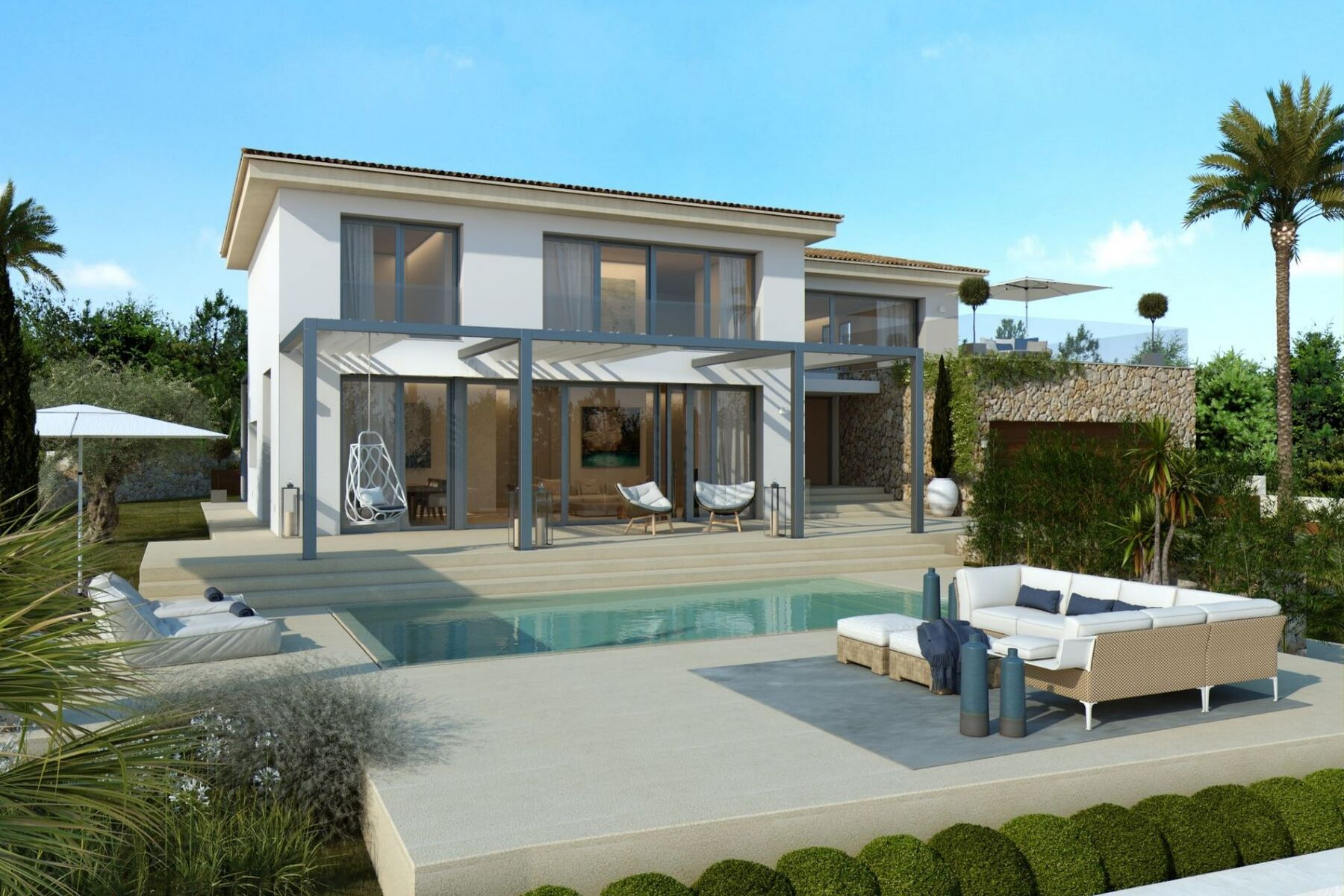 واحد منزل الأسرة للـ Sale في Fantastic villa project in Santa Ponsa Santa Ponsa, Balearic Islands, Spain