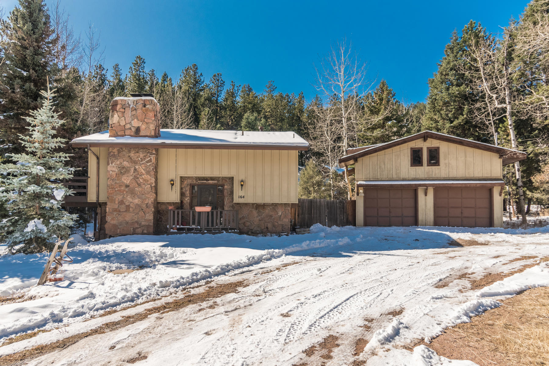 Single Family Homes for Active at Quintessential Mountain Home! 164 Brookside Drive Bailey, Colorado 80421 United States
