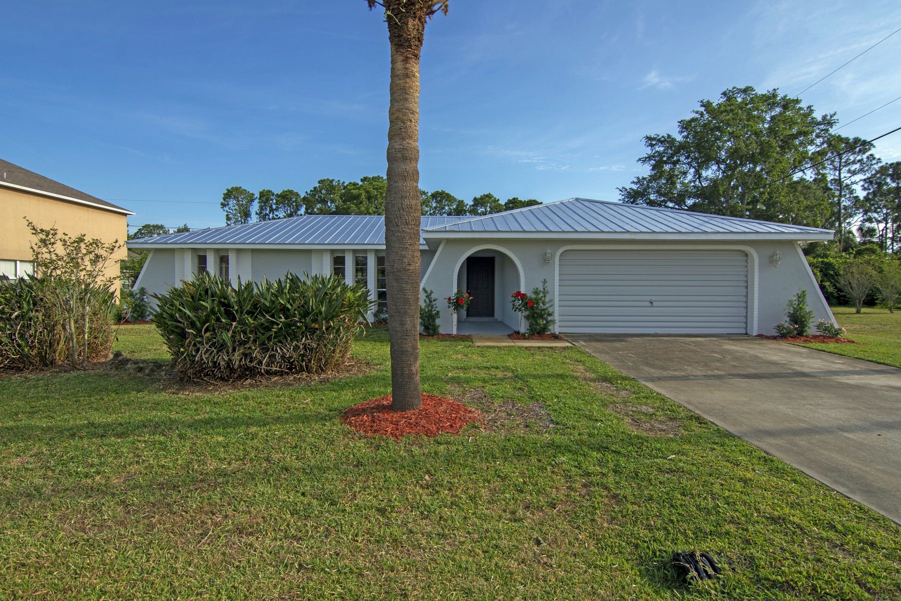 Single Family Home for Sale at Remodeled CBS Home with Brand New Metal Roof 787 Empress Street SE #9 Palm Bay, Florida 32909 United States