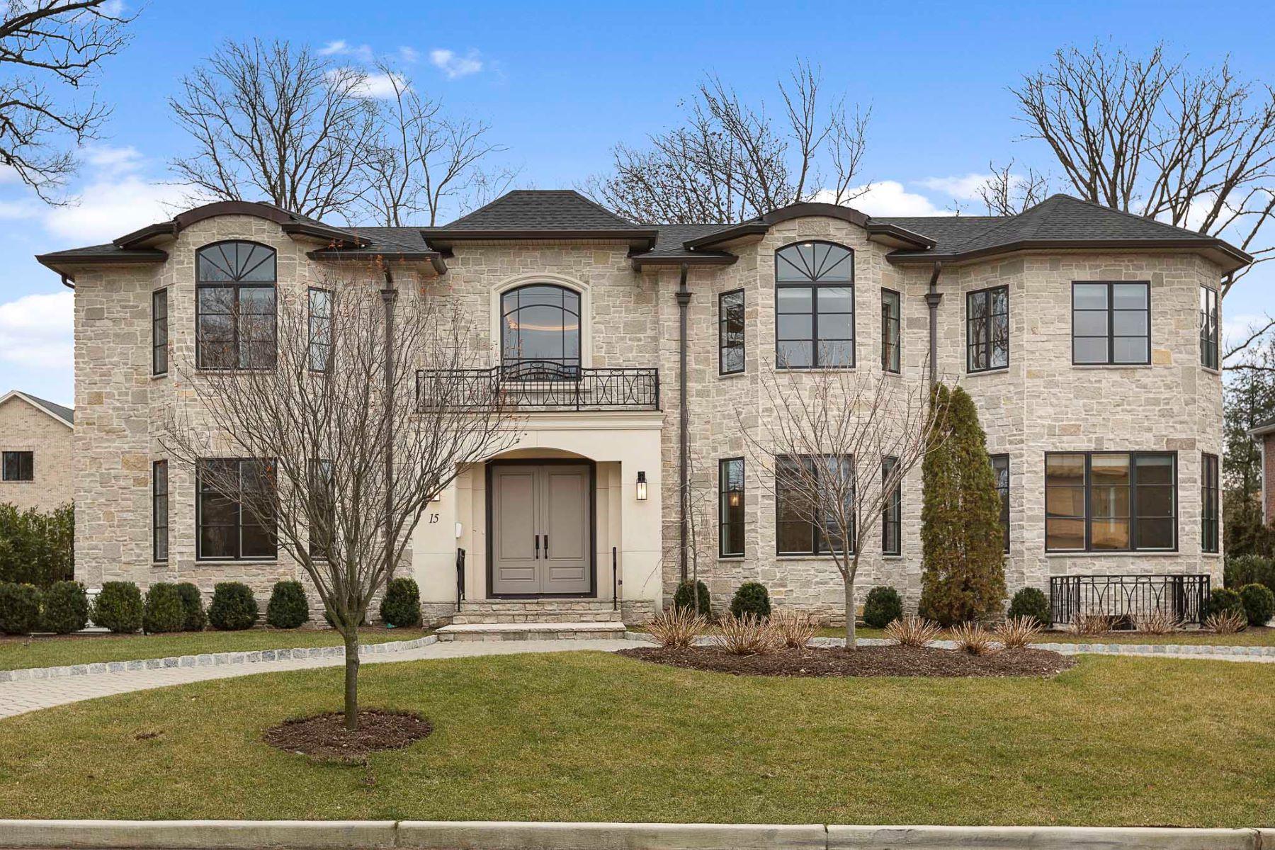 Villa per Vendita alle ore Magnificent Craftsmanship 15 Stephen Drive, Englewood Cliffs, New Jersey 07632 Stati Uniti