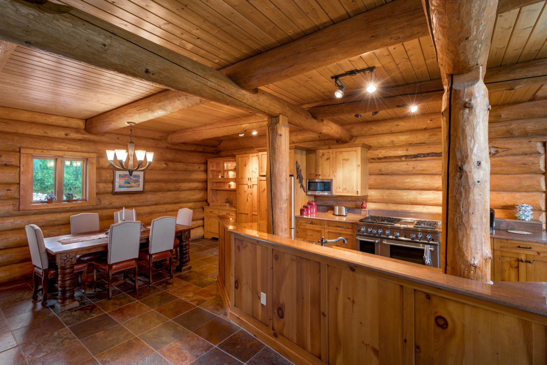 Additional photo for property listing at Epic Rocky Mountain Log Home 47505 County Road 52W Steamboat Springs, Colorado 80487 Estados Unidos