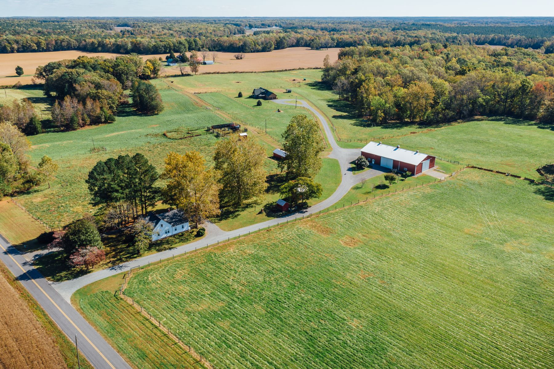 Granjas / Hacienda / Platanción por un Venta en Wild T Bison Farm 304 & 308 Drinking Swamp Road Warsaw, Virginia 22460 Estados Unidos