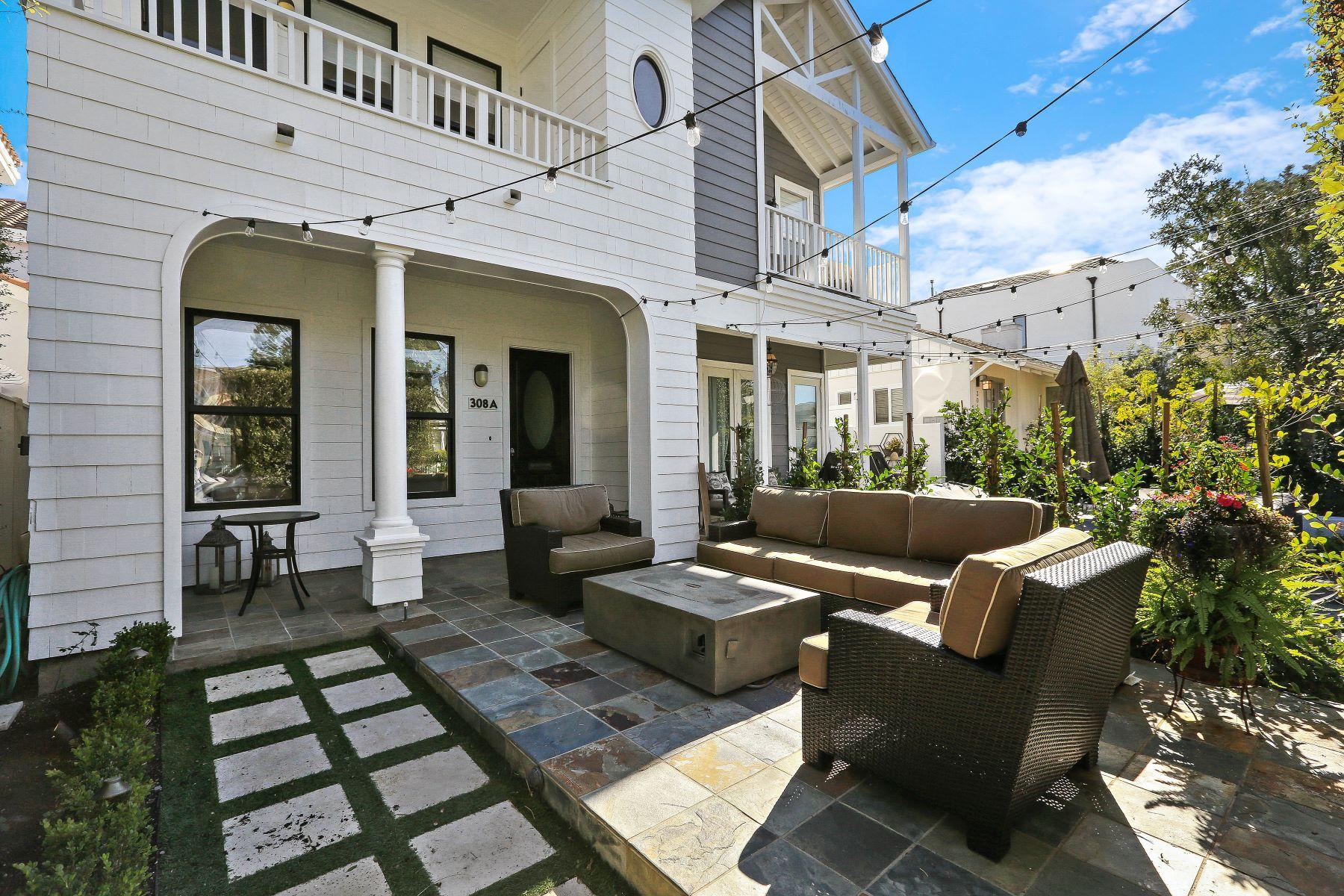Single Family Homes for Active at 308 Iris Avenue Unit#A 308 Iris Ave # A Corona Del Mar, California 92625 United States
