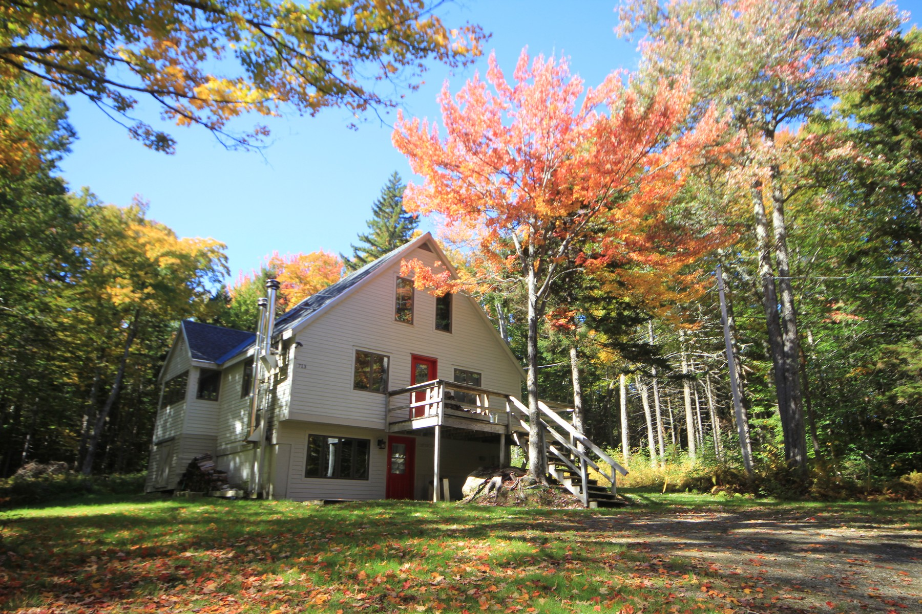 Single Family Homes for Sale at 713 Stratton Arlington Road, Stratton 713 Stratton Arlington Rd Stratton, Vermont 05360 United States