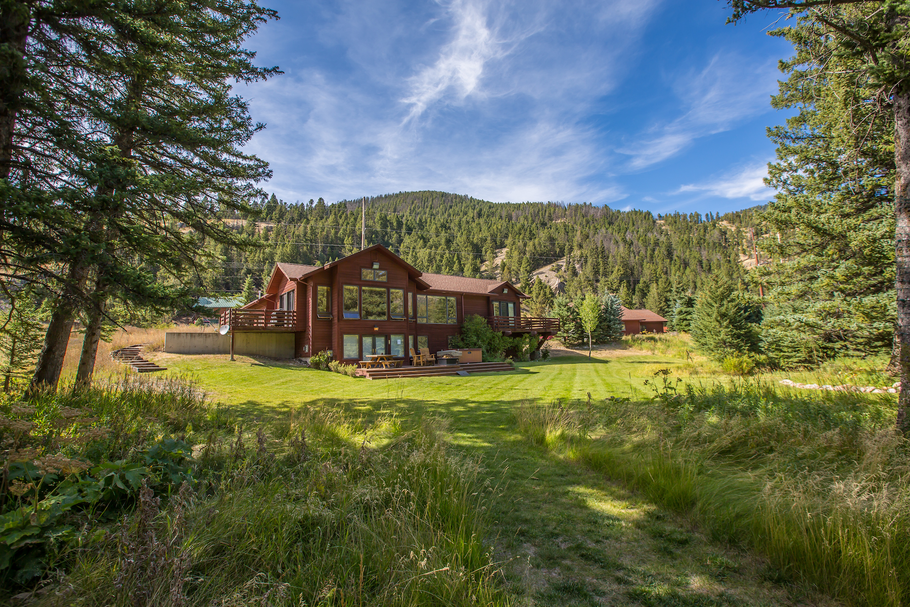 Single Family Home for Active at Gallatin River Property 48042 Gallatin Road Big Sky, Montana 59716 United States