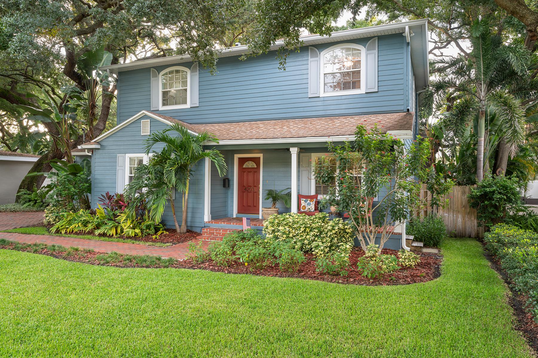 Single Family Homes für Verkauf beim 4203 OBISPO 4203 W Obispo St, Tampa, Florida 33629 Vereinigte Staaten