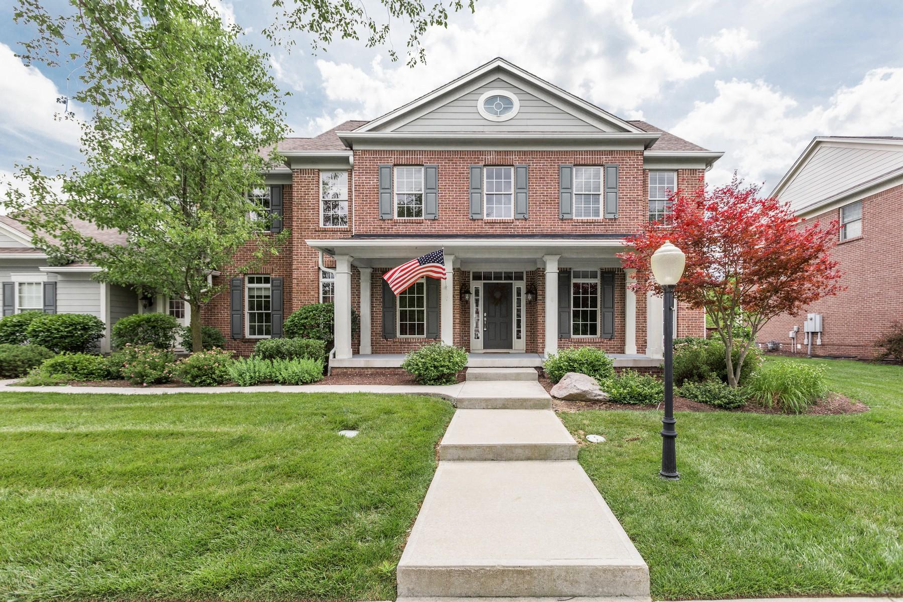 Частный односемейный дом для того Продажа на Immaculate Village of WestClay Home 1751 Halifax Street Carmel, Индиана 46032 Соединенные Штаты