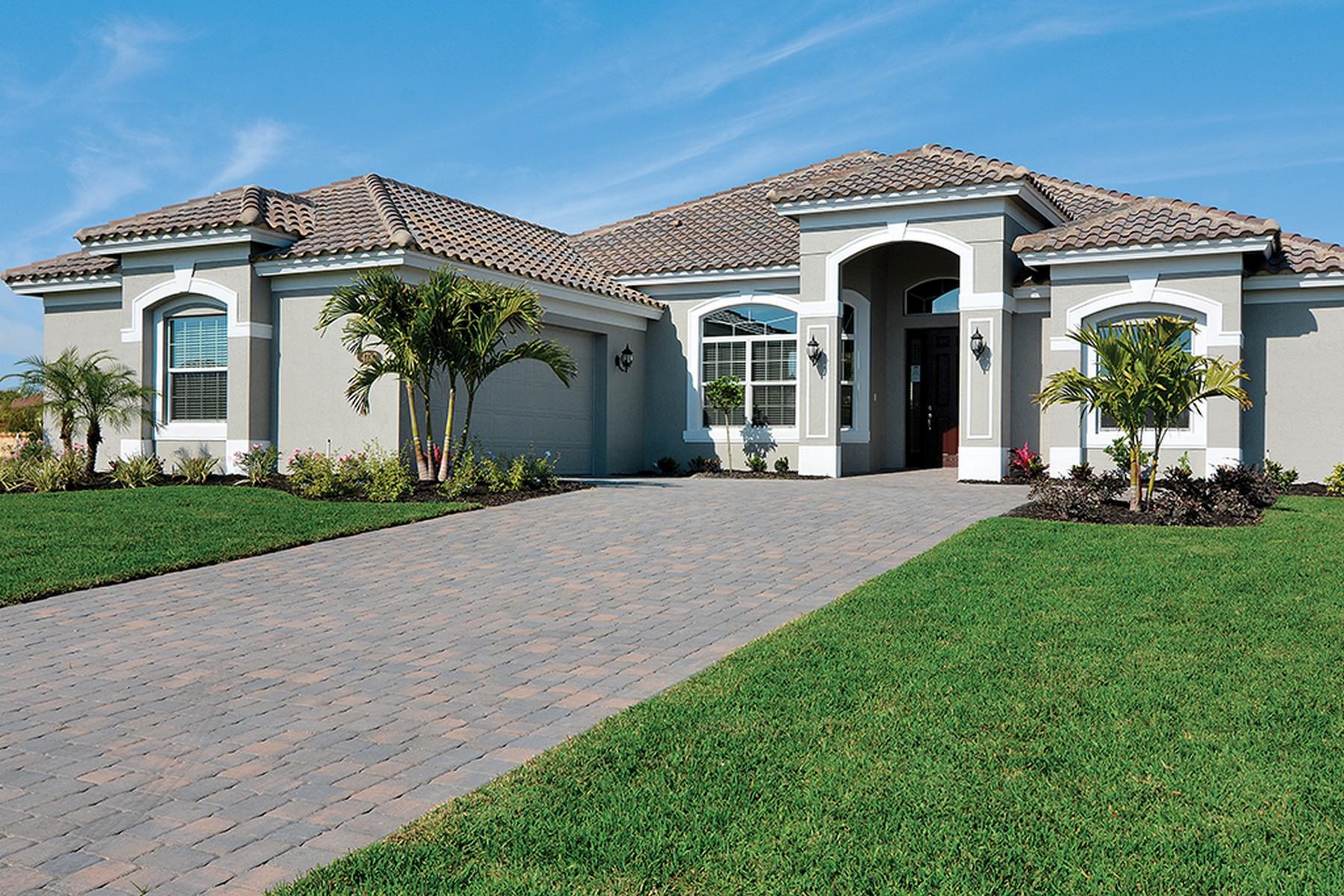 Casa Unifamiliar por un Venta en Ready to Move in! 4733 Four Lakes Circle Vero Beach, Florida, 32968 Estados Unidos