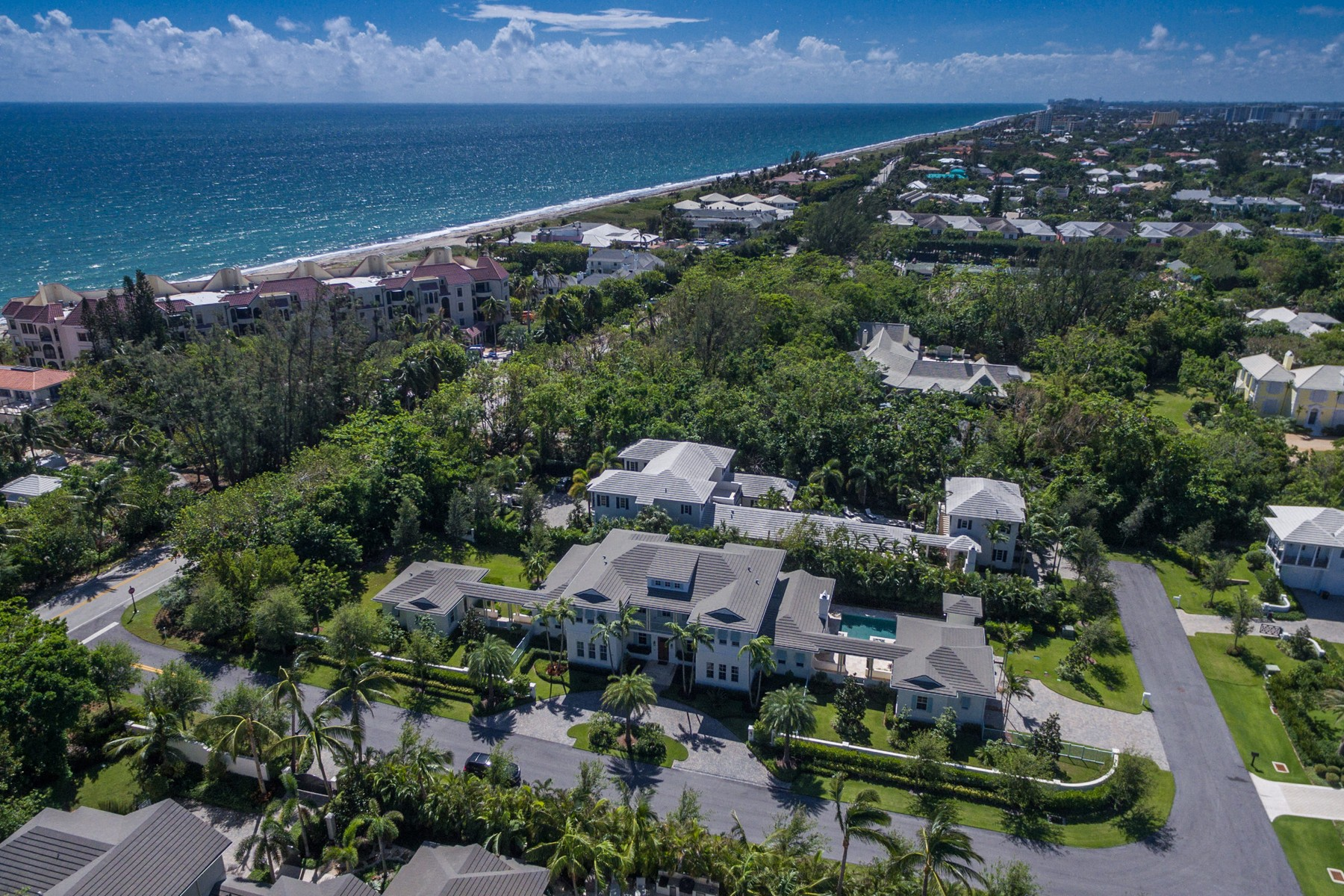 Single Family Home for Sale at 1224 N Ocean Blvd , Gulf Stream, FL 33483 Gulf Stream, Florida, 33483 United States