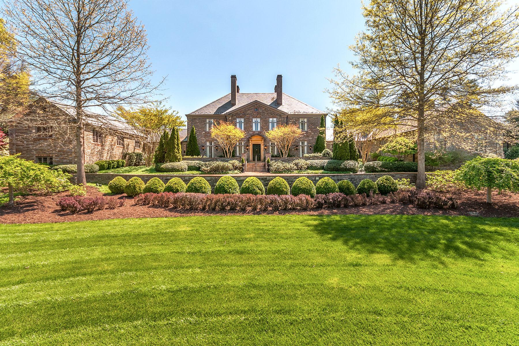 Single Family Homes for Sale at BILTMORE FOREST 398 Vanderbilt Rd Asheville, North Carolina 28803 United States