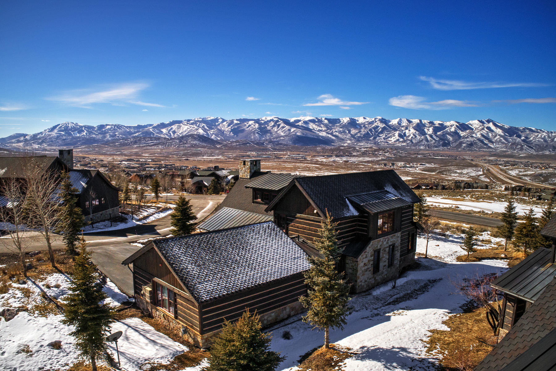 Single Family Home for Sale at Elevated Mountain Happiness Lives Here! 8228 Western Sky Park City, Utah 84098 United States