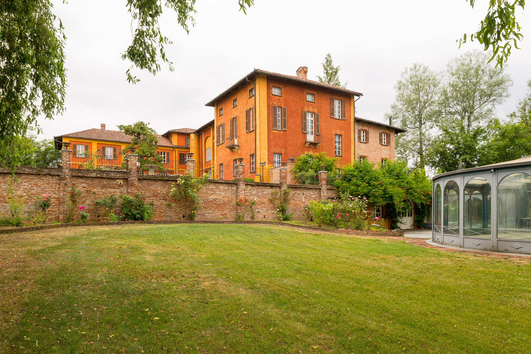Single Family Home for Sale at Historical mansion in the Asti hills Frazione Lavezzole Other Asti, Asti 14015 Italy