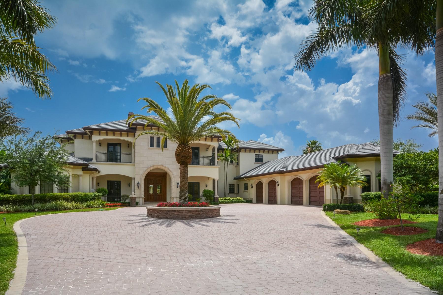 Частный односемейный дом для того Продажа на 9106 NW 66th Ln , Parkland, FL 33067 Parkland, Флорида, 33067 Соединенные Штаты
