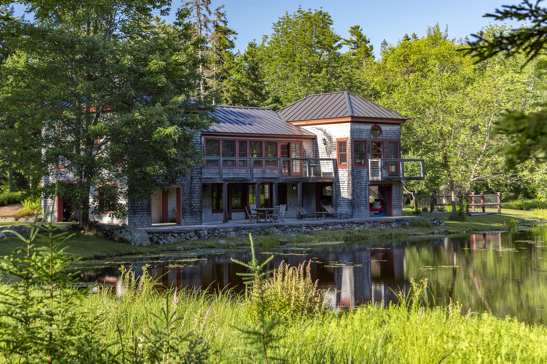 Single Family Homes for Sale at Wild Thyme 541 Indian Point Road Bar Harbor, Maine 04609 United States