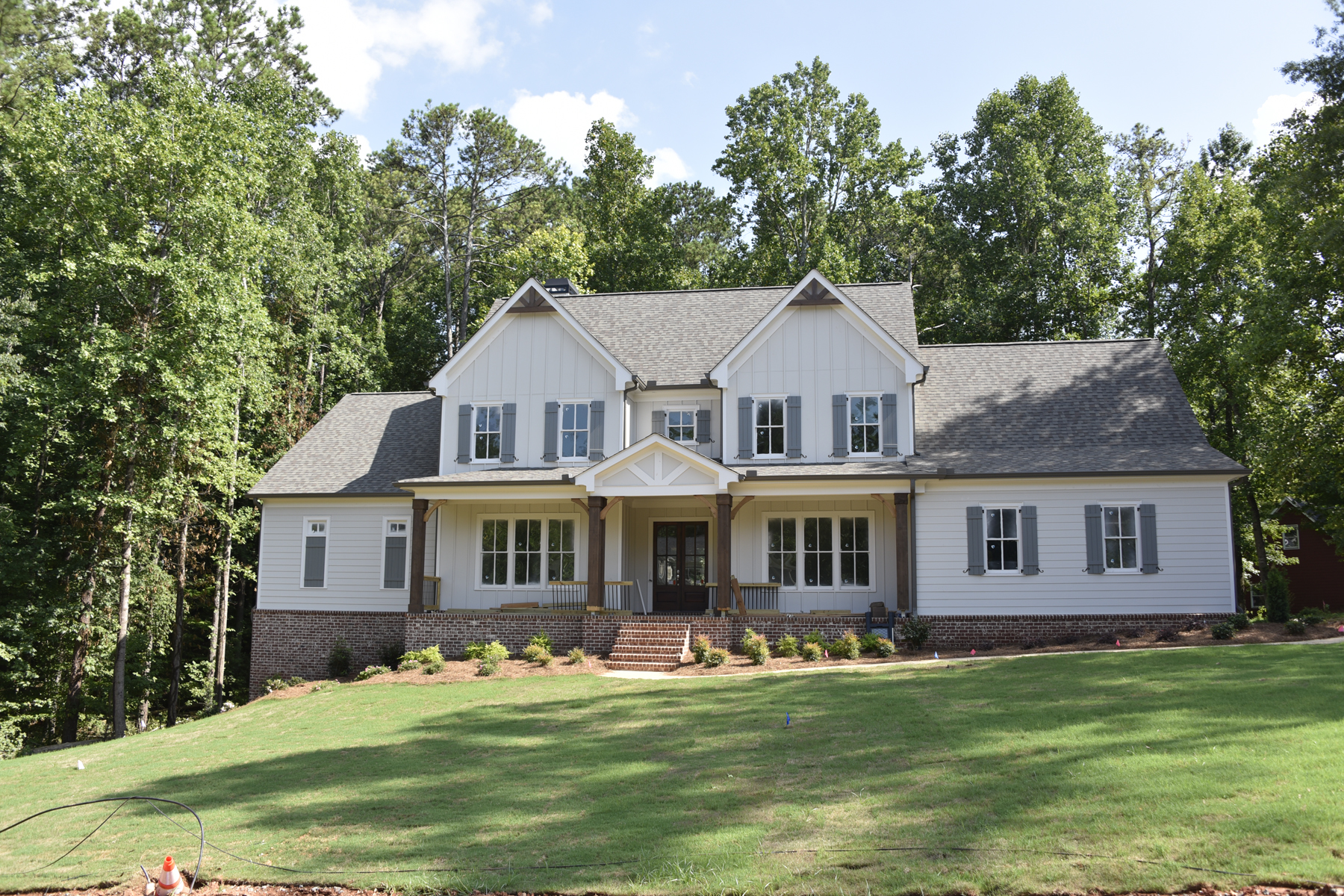 Single Family Homes for Active at Owners on Main New Construction Woodstock Home 203 Rosewood Circle Woodstock, Georgia 30188 United States