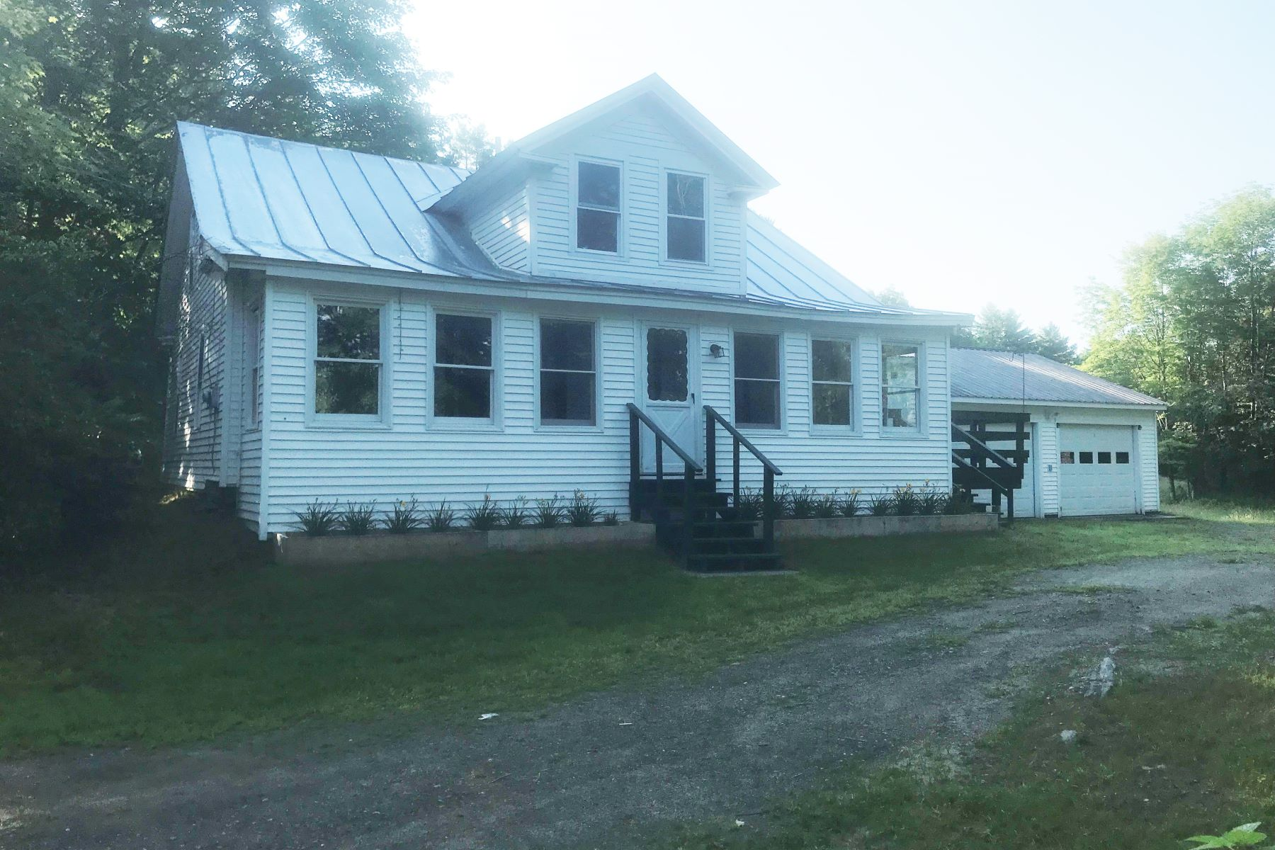 Single Family Homes for Sale at Three Bedroom Cape in Bradford 681 Upper Rogers Rd Bradford, Vermont 05033 United States