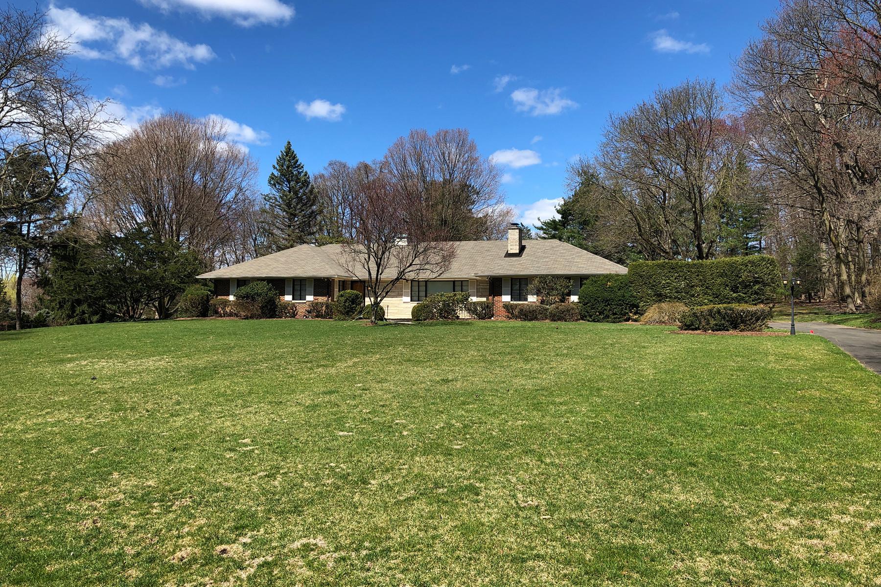 Enfamiljshus för Försäljning vid Magnificent Property 59 Hickory Lane, Closter, New Jersey 07624 Förenta staterna