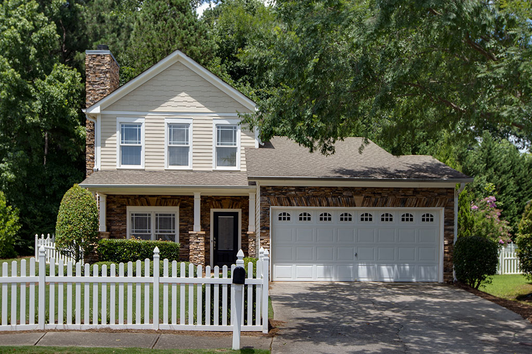 Single Family Home for Sale at Live Americana 3545 Old Towne Ln Cumming, Georgia 30040 United States
