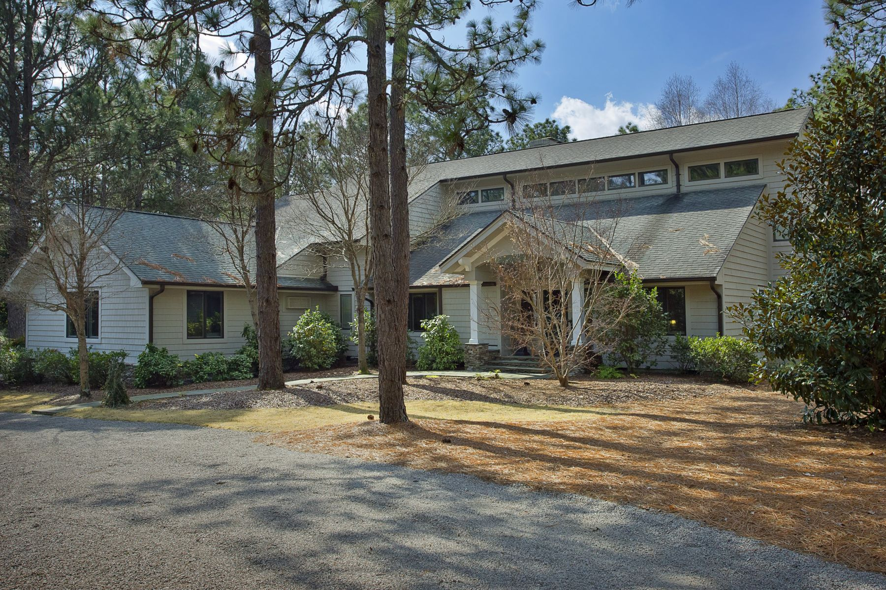 Single Family Homes for Active at Magnificent Golf-Front Contemporary 35 Bel Air Drive Pinehurst, North Carolina 28374 United States
