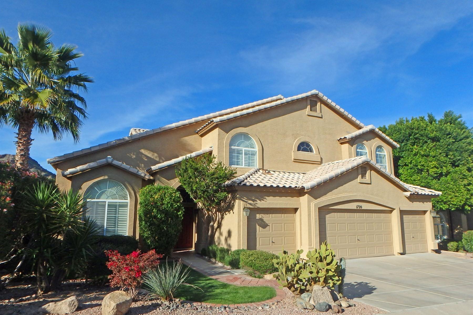Casa Unifamiliar por un Venta en Remarkable home in Pointe Mountainside 1720 E Sheena Dr Phoenix, Arizona, 85022 Estados Unidos