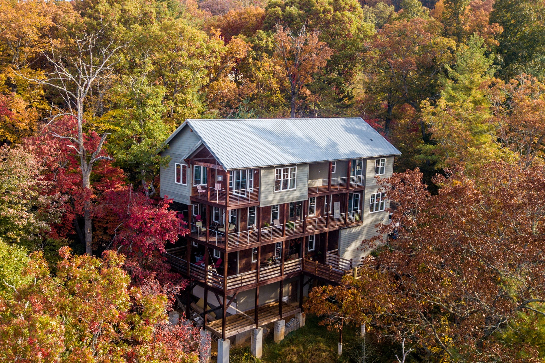 Single Family Homes for Active at 84 Old Cove Rd Black Mountain, North Carolina 28711 United States