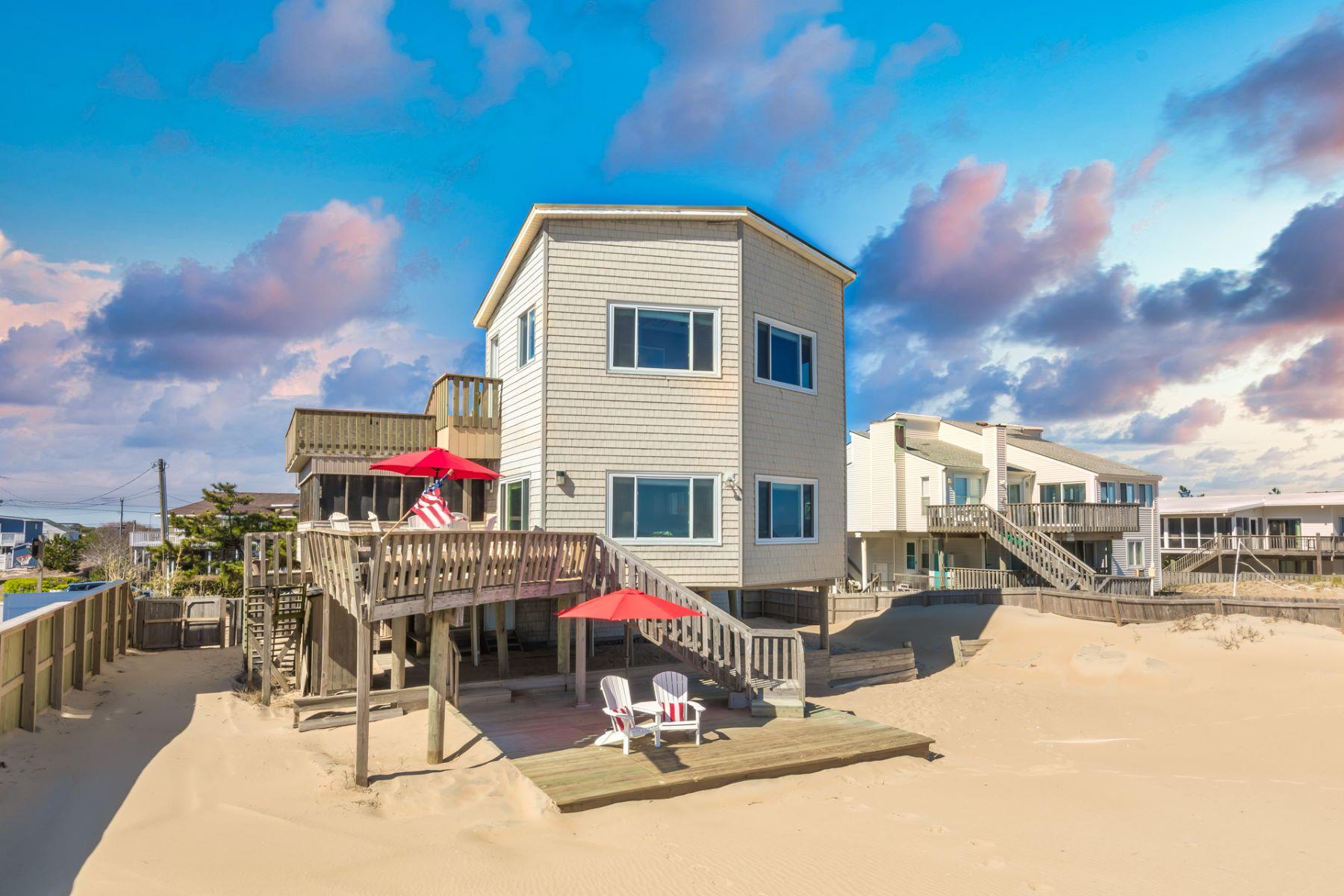 "Single Family Homes のために 売買 アット 3668 Sandfiddler Road ""Interlude"" Sandbridge Beach Virginia Beach, バージニア 23456 アメリカ"
