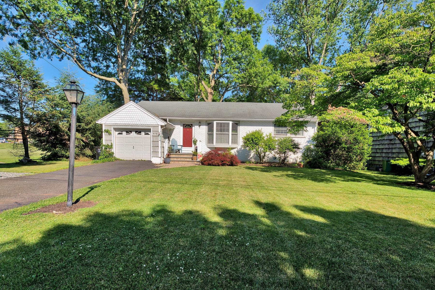 Single Family Home for Sale at A Charming Ranch Home On A Dead End Street. 438 Cedar Avenue, Paramus, New Jersey 07652 United States